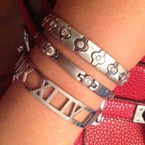 Jewelry - 2 stainless steel allergy tarnish free bracelets